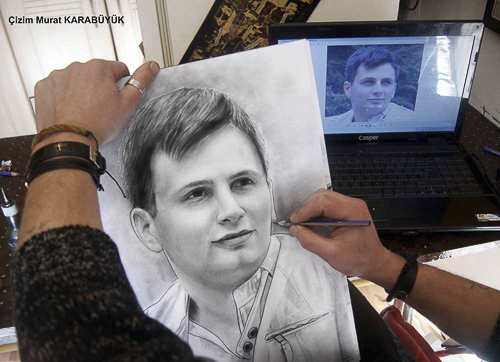 Karakalem Portre Çizimleri - Sanatsal Hediyeler İstanbul kadıköy bağdat caddesi üsküdar çizim 241