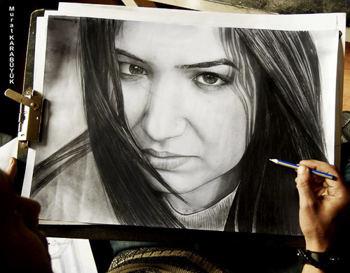 Karakalem Portre Çizimleri - Sanatsal Hediyeler İstanbul kadıköy bağdat caddesi üsküdar çizim 231