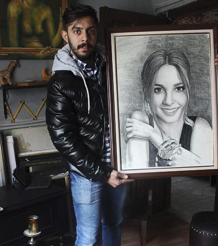 Karakalem Portre Çizimleri - Sanatsal Hediyeler İstanbul kadıköy bağdat caddesi üsküdar çizim 230