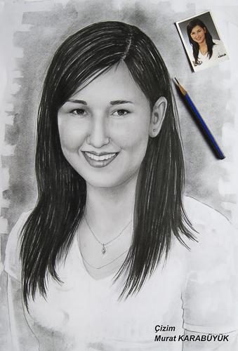 Karakalem Portre Çizimleri - Sanatsal Hediyeler İstanbul kadıköy bağdat caddesi üsküdar çizim 229