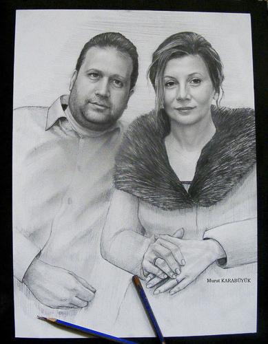 Karakalem Portre Çizimleri - Sanatsal Hediyeler İstanbul kadıköy bağdat caddesi üsküdar çizim 222