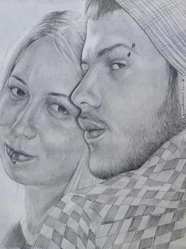 Karakalem Portre Çizimleri - Sanatsal Hediyeler İstanbul kadıköy bağdat caddesi üsküdar çizim 215