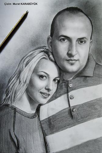 Karakalem Portre Çizimleri - Sanatsal Hediyeler İstanbul kadıköy bağdat caddesi üsküdar çizim 214