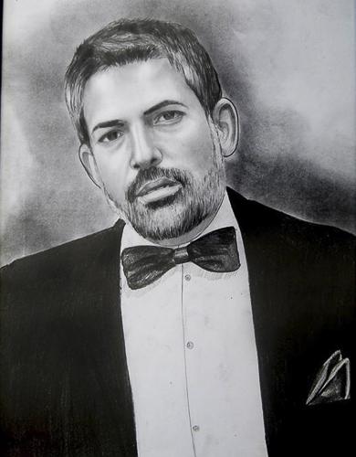 Karakalem Portre Çizimleri - Sanatsal Hediyeler İstanbul kadıköy bağdat caddesi üsküdar çizim 204