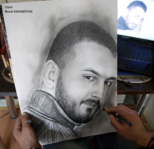 Karakalem Portre Çizimleri - Sanatsal Hediyeler İstanbul kadıköy bağdat caddesi üsküdar çizim 202
