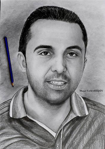 Karakalem Portre Çizimleri - Sanatsal Hediyeler İstanbul kadıköy bağdat caddesi üsküdar çizim 196