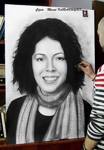 Karakalem Portre Çizimleri - Sanatsal Hediyeler İstanbul kadıköy bağdat caddesi üsküdar çizim 184