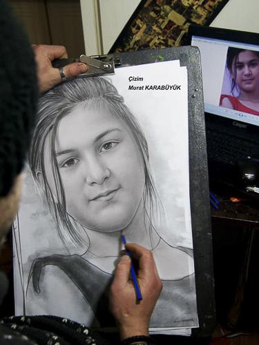 Karakalem Portre Çizimleri - Sanatsal Hediyeler İstanbul kadıköy bağdat caddesi üsküdar çizim 183