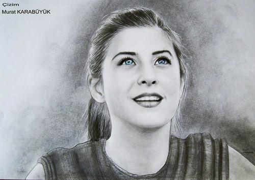 Karakalem Portre Çizimleri - Sanatsal Hediyeler İstanbul kadıköy bağdat caddesi üsküdar çizim 182