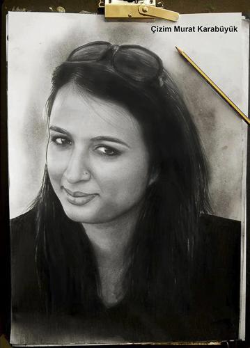 Karakalem Portre Çizimleri - Sanatsal Hediyeler İstanbul kadıköy bağdat caddesi üsküdar çizim 181