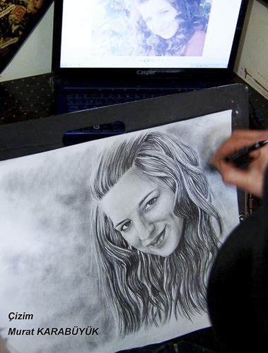 Karakalem Portre Çizimleri - Sanatsal Hediyeler İstanbul kadıköy bağdat caddesi üsküdar çizim 179