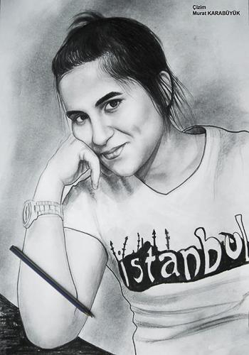 Karakalem Portre Çizimleri - Sanatsal Hediyeler İstanbul kadıköy bağdat caddesi üsküdar çizim 175