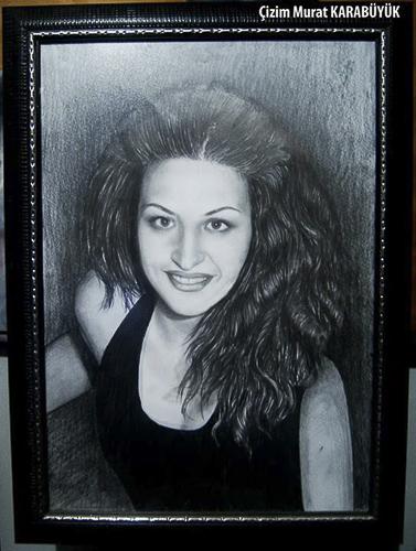 Karakalem Portre Çizimleri - Sanatsal Hediyeler İstanbul kadıköy bağdat caddesi üsküdar çizim 174