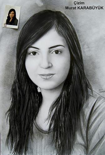 Karakalem Portre Çizimleri - Sanatsal Hediyeler İstanbul kadıköy bağdat caddesi üsküdar çizim 156