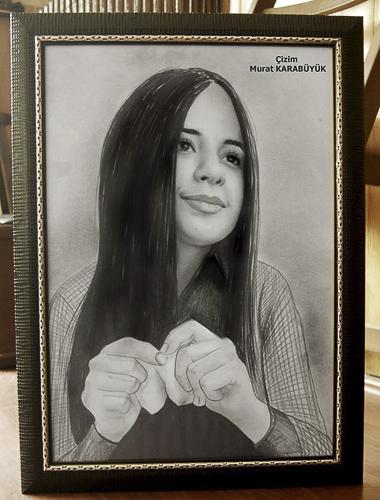 Karakalem Portre Çizimleri - Sanatsal Hediyeler İstanbul kadıköy bağdat caddesi üsküdar çizim 154