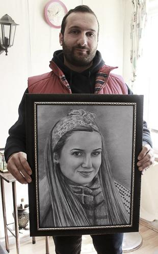 Karakalem Portre Çizimleri - Sanatsal Hediyeler İstanbul kadıköy bağdat caddesi üsküdar çizim 151