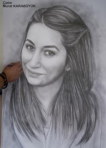 Karakalem Portre Çizimleri - Sanatsal Hediyeler İstanbul kadıköy bağdat caddesi üsküdar çizim 149
