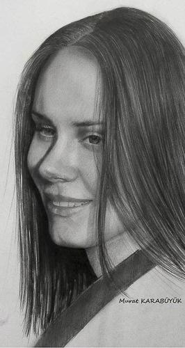 Karakalem Portre Çizimleri - Sanatsal Hediyeler İstanbul kadıköy bağdat caddesi üsküdar çizim 147