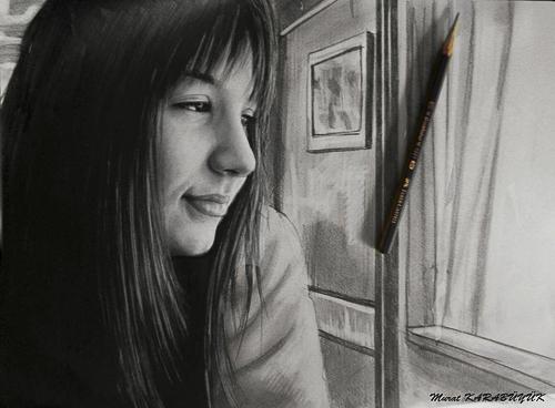 Karakalem Portre Çizimleri - Sanatsal Hediyeler İstanbul kadıköy bağdat caddesi üsküdar çizim 142bul portre çizim 3