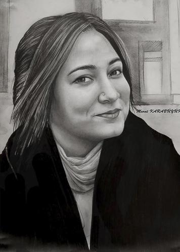 Karakalem Portre Çizimleri - Sanatsal Hediyeler İstanbul kadıköy bağdat caddesi üsküdar çizim 141