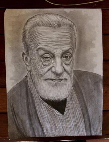 Karakalem Portre Çizimleri - Sanatsal Hediyeler İstanbul kadıköy bağdat caddesi üsküdar çizim 128