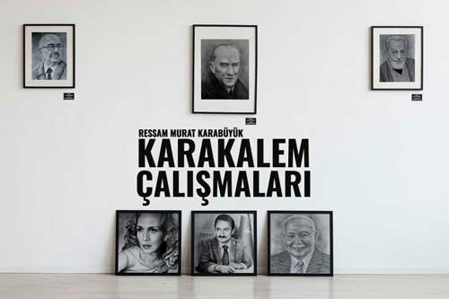 Karakalem Portre İstanbul