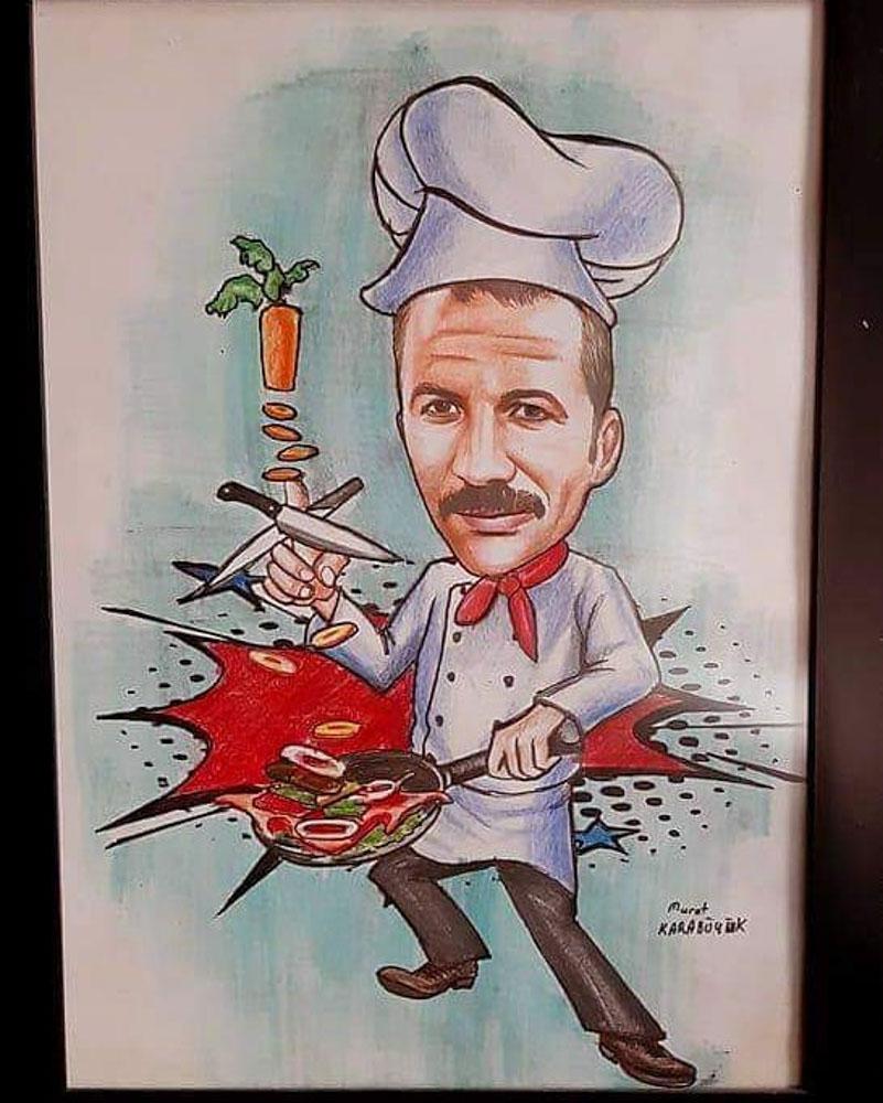 Karikatür Portre Çizim Yapan Yerler ve FiyatlarıKarakalem Portre Çizimleri - Sanatsal Hediyeler İstanbul kadıköy bağdat caddesi üsküdar 6