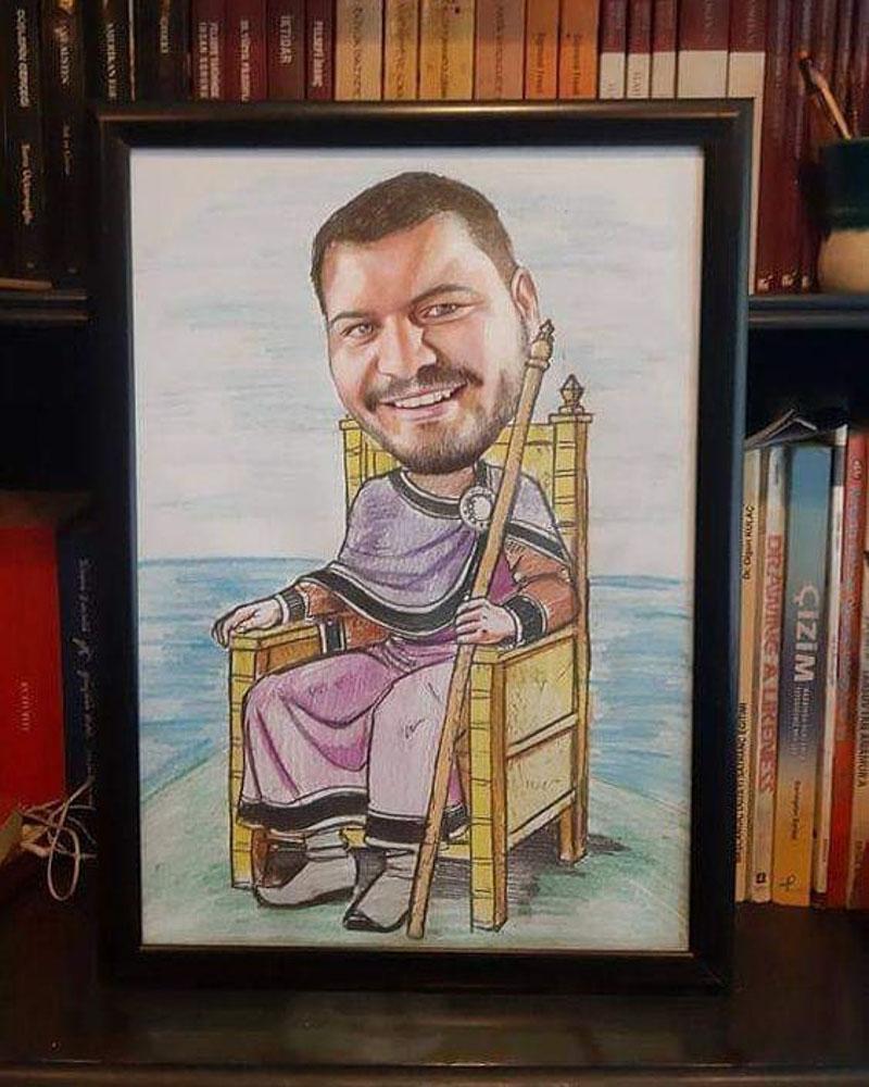 Karikatür Portre Çizim Yapan Yerler ve FiyatlarıKarakalem Portre Çizimleri - Sanatsal Hediyeler İstanbul kadıköy bağdat caddesi üsküdar 3