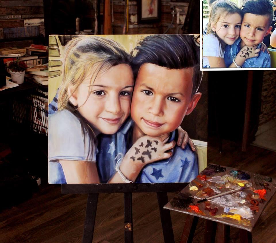 İstanbul Yağlıboya Portre Sipariş Fiyatları Karakalem Çizimleri Sanatsal Hediyeler İstanbul kadıköy bağdat caddesi üsküdar 22