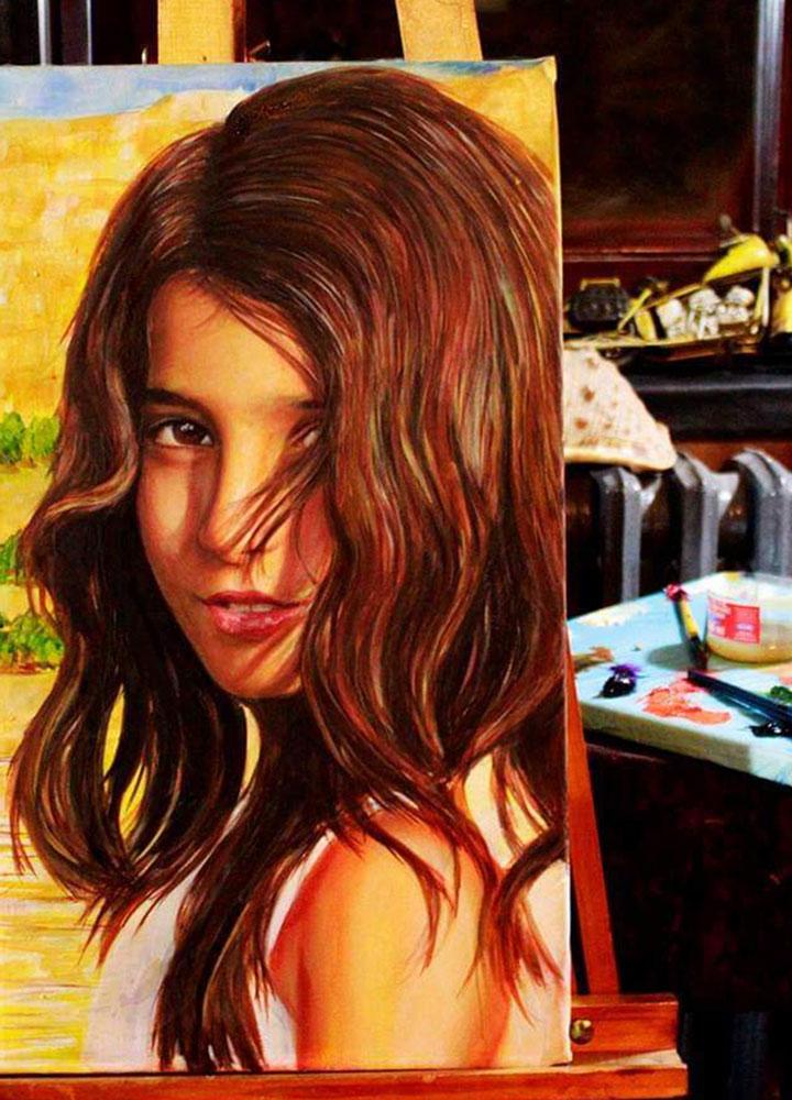 İstanbul Yağlıboya Portre Sipariş Fiyatları Karakalem Çizimleri Sanatsal Hediyeler İstanbul kadıköy bağdat caddesi üsküdar 27