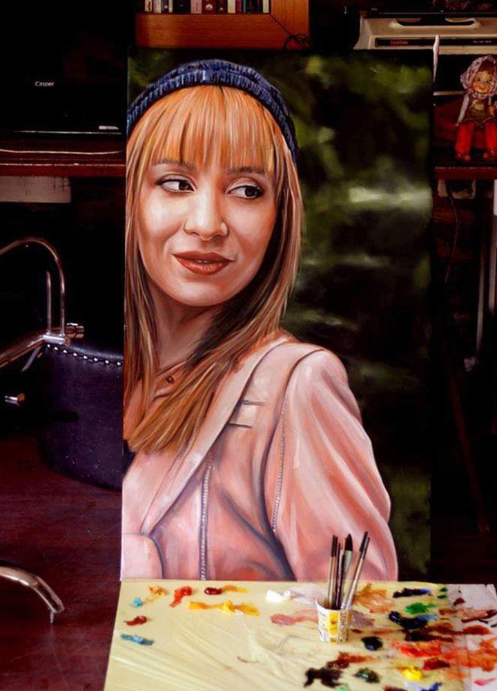 İstanbul Yağlıboya Portre Sipariş Fiyatları Karakalem Çizimleri Sanatsal Hediyeler İstanbul kadıköy bağdat caddesi üsküdar 26
