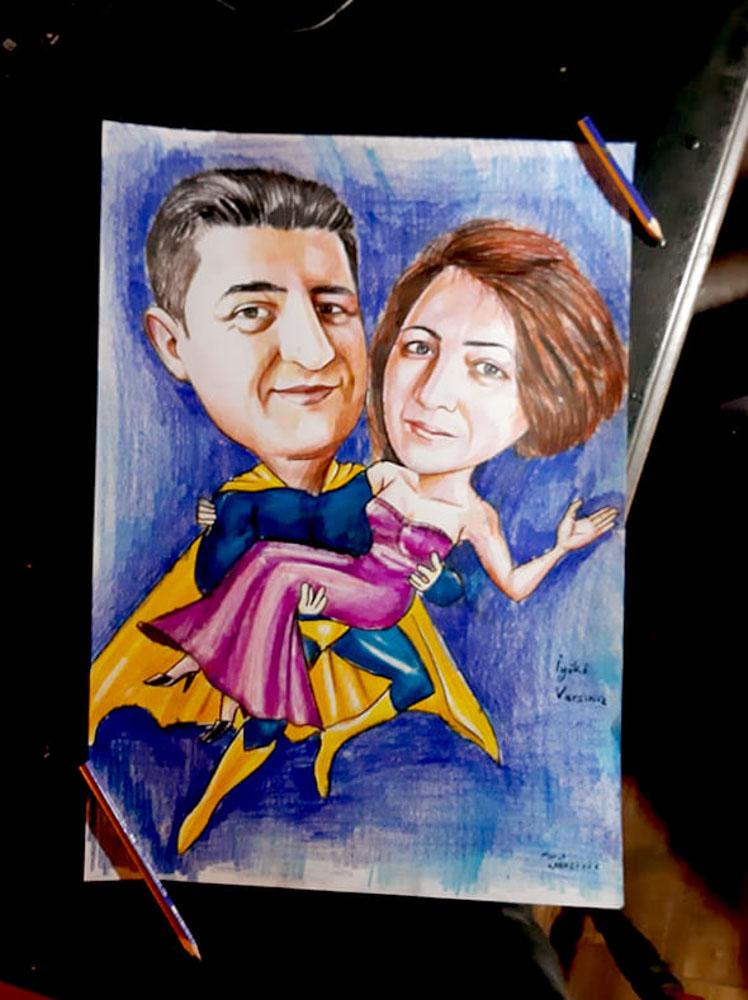 Karikatür Portre Çizim Yapan Yerler ve FiyatlarıKarakalem Portre Çizimleri - Sanatsal Hediyeler İstanbul kadıköy bağdat caddesi üsküdar 9
