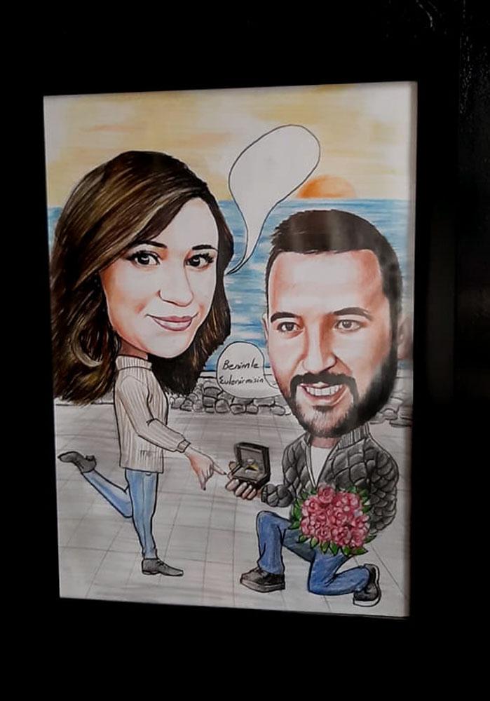 Karikatür Portre Çizim Yapan Yerler ve FiyatlarıKarakalem Portre Çizimleri - Sanatsal Hediyeler İstanbul kadıköy bağdat caddesi üsküdar 8