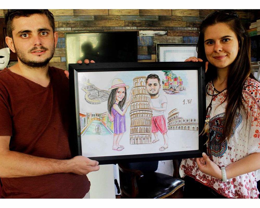 Karikatür Portre Çizim Yapan Yerler ve FiyatlarıKarakalem Portre Çizimleri - Sanatsal Hediyeler İstanbul kadıköy bağdat caddesi üsküdar