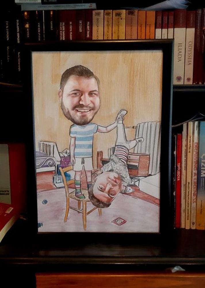 Kişiye Özel Karikatür Portre Çizim Yapan Yerler ve FiyatlarıKarakalem Portre Çizimleri - Sanatsal Hediyeler İstanbul kadıköy bağdat caddesi üsküdar
