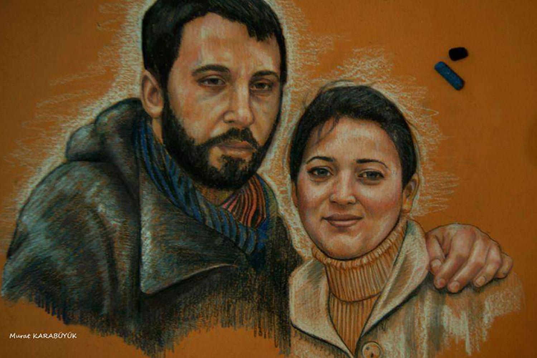 pastel Portre Çizimleri - İstanbul kadıköy bağdat caddesi üsküdar çizim karkalem 28