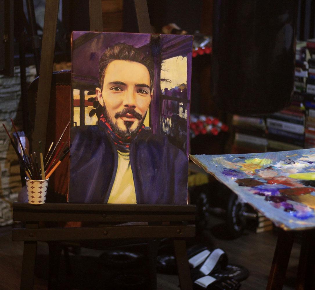İstanbul Yağlıboya Portre Sipariş Fiyatları Karakalem Çizimleri Sanatsal Hediyeler İstanbul kadıköy bağdat caddesi üsküdar 20