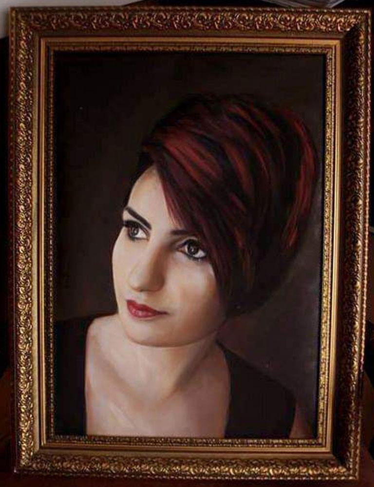 İstanbul Yağlıboya Portre Sipariş Fiyatları Karakalem Çizimleri Sanatsal Hediyeler İstanbul kadıköy bağdat caddesi üsküdar 18