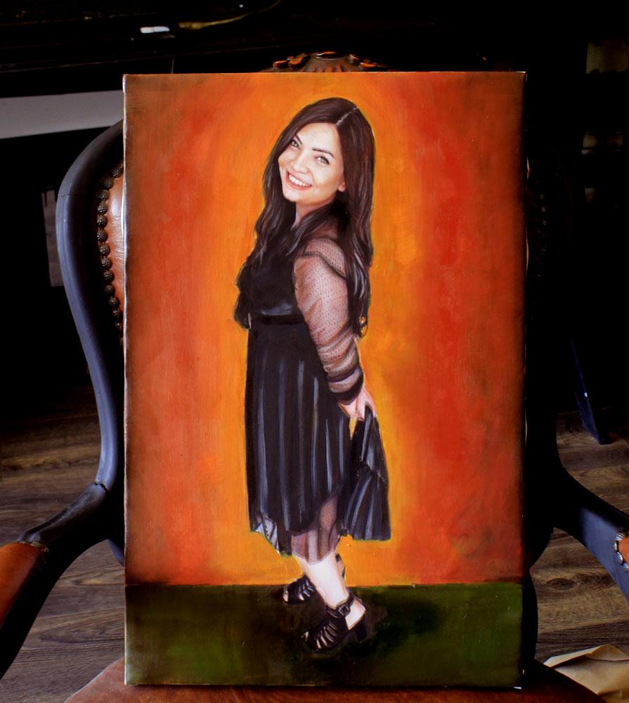 yağlıboya portre istanbul 12 murat karabüyük