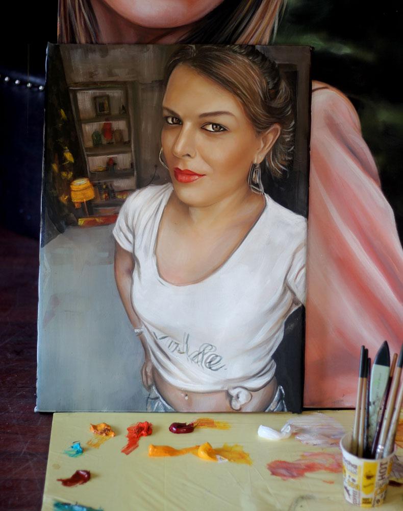 İstanbul Yağlıboya Portre Sipariş Fiyatları Karakalem Çizimleri Sanatsal Hediyeler İstanbul kadıköy bağdat caddesi üsküdar 13