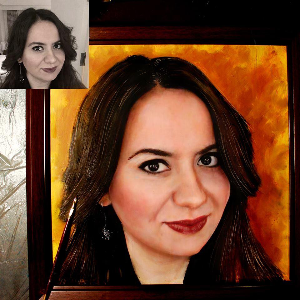 İstanbul Yağlıboya Portre Sipariş Fiyatları Karakalem Çizimleri Sanatsal Hediyeler İstanbul kadıköy bağdat caddesi üsküdar 12