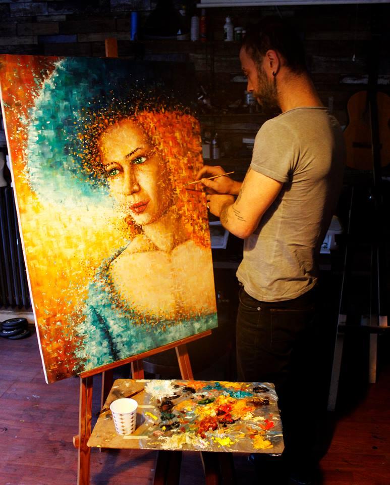 İstanbul Yağlıboya Portre Sipariş Fiyatları Karakalem Çizimleri Sanatsal Hediyeler İstanbul kadıköy bağdat caddesi üsküdar 8