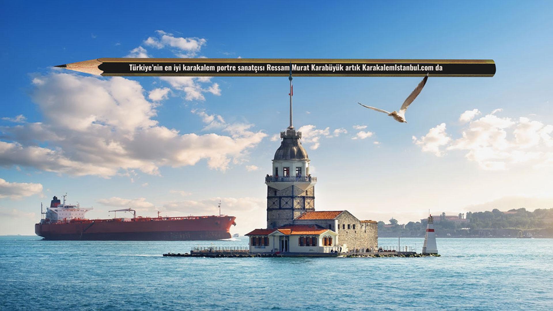 Karakalem İstanbul Portre
