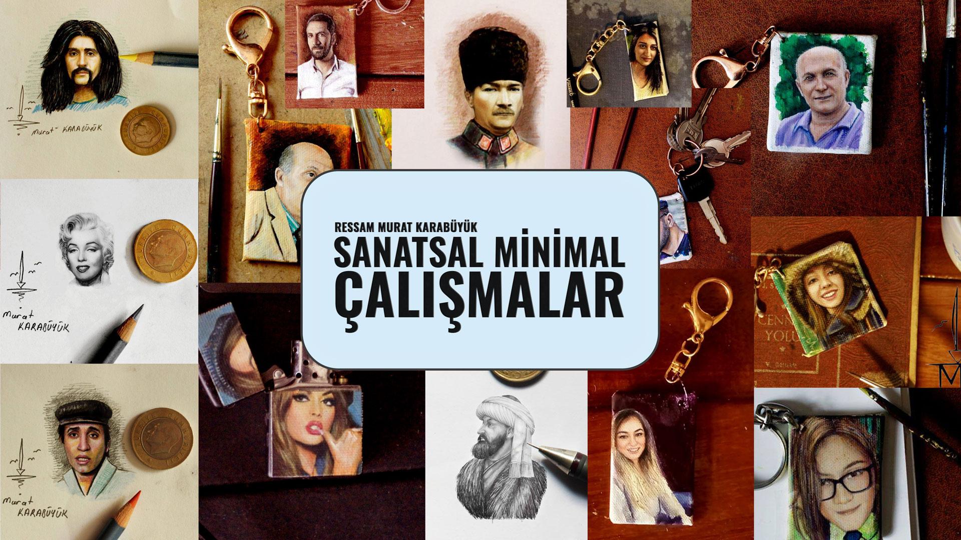 Minimalist Portre Çalışmaları