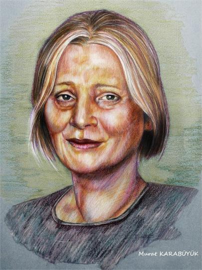 pastel Portre Çizimleri - İstanbul kadıköy bağdat caddesi üsküdar çizim karkalem 20