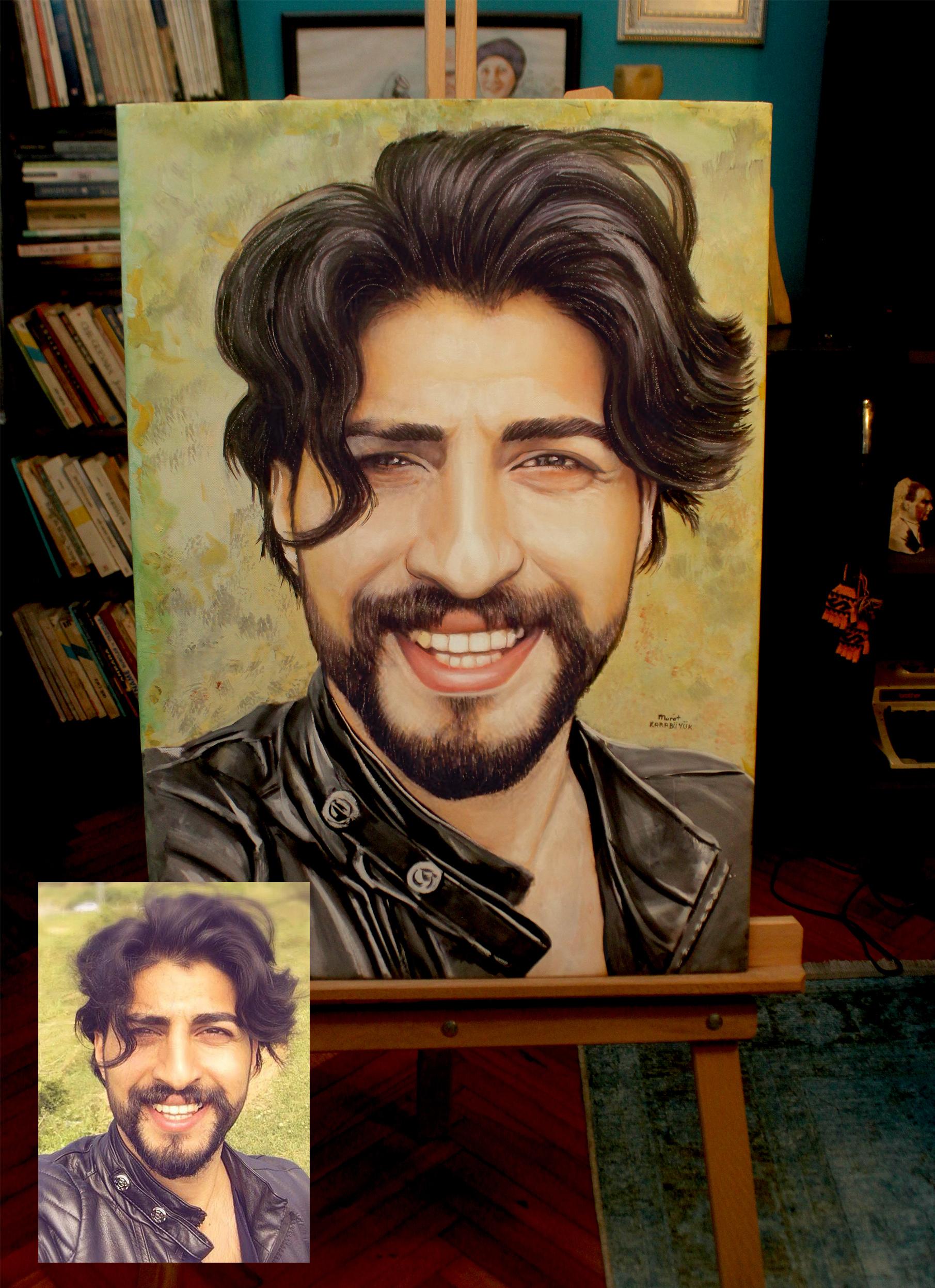 Yağlıboya Portre Çalışmaları - Sanatsal Hediyeler İstanbul kadıköy bağdat caddesi üsküdar 1